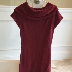 Dark red Nordstrom sweater dress M like new